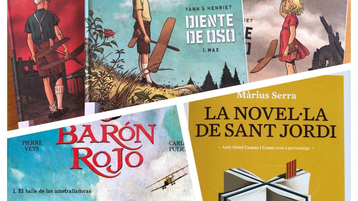 Quatre còmics i una novel.la